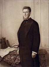 MONSEIGNEUR le duc d'ORLÉANS (1869-1926) - Gravure du 19e (d'après P. Mathey)
