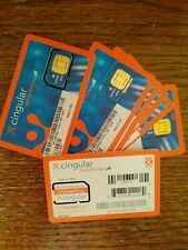 New Cigular Prepaid Phone 3G / Hotspot Sim Card Oem Dell Mf324