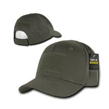 Olive Green Tactical Operator Contractor Military Patch Cap Caps Hat Hats
