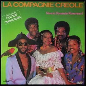 *** 33 TOURS VINYL LA COMPAGNIE CREOLE - VIVE LE DOUANIER ROUSSEAU  *CARRERE ***