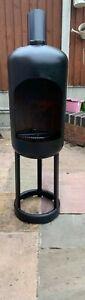 Outdoor Log Burner/Calor Gas Bottle/Fire