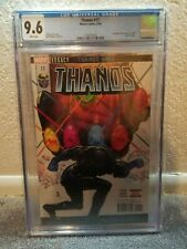THANOS #17 CGC 9.6 HULK ANNUAL COVER HOMAGE DONNY CATES SILVER SURFER BLACK HOT!