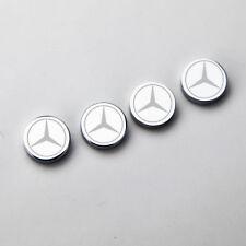 Laser Etched 4 Mercedes Benz License Plate Frame Bolt Fastener No Rust Screw Cap