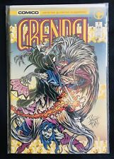 GRENDEL #7 NM (1986 Series, COMICO) White Pages Matt Wagner UNREAD!