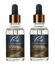 24K Gold Ati-Wrinkle Serum_Collagen Boost_Cell Regeneration_Hydration - 2x30ml