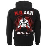 PRETORIAN Sweatshirt Mens Bluse Bluza Pit Bull Grey MMA Hooligans Public Enemy