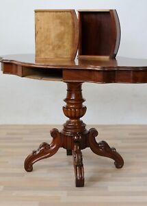 Tavolo tavolino biscotto  da sala e salotto fine 1800