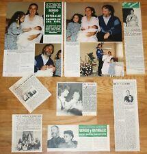MOCEDADES / SERGIO Y ESTIBALIZ coleccion prensa 1970s/1980s revista Eurovision