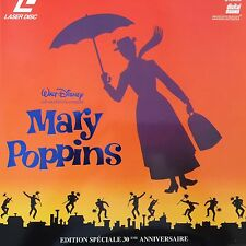 MARY POPPINS WS VF 30 ANNIVERSAIRE PAL LASERDISC DISNEY GRANDS CLASSIQUES