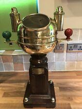 Binnacle Compass Vintage Brass Gimbal Ships Sestrel Marine Maritime Nautical