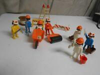 Vintage 1976 Playmobil System Construction Worker Set