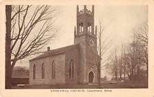 Lanesboro Massachusetts Episcopal Church Antique Postcard J59913