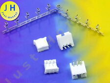 Kit 2x hembra + conector 3 polos + crimpkontakte Connector 2mm PCB abgewink #a1720