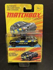 Matchbox Lesney Edition BMW X5