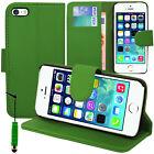 Accessoire Housse Etui Coque Portefeuille Support Video Pour Apple iPhone 5/ 5S
