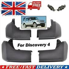 4PCS FOR LAND ROVER DISCOVERY 4 FRONT REAR MUD FLAPS SET MUDFLAPS KIT 2010-