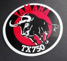 Aufkleber YAMAHA TX 750 Oldtimer Motorrad 70er Jahre Motorbike Sticker