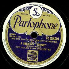 "FRED ALLEN & ORCH. A Sheridan ""Square""/ Indiana   Schellackplatte  78rpm X3316"