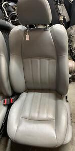 CHRYSLER 300C GREY LEATHER PASSENGER SEAT INTERIOR 3.0 Crd Hemi #5