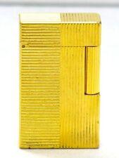 S.T. Dupont Feuerzeug Linie 1 Gold Lighter aus dem 80er Jahre