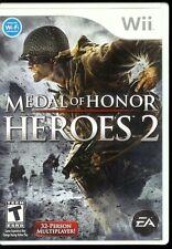 Nintendo Wii Medal Of Honor Heroes 2 DVD Video Game 2007