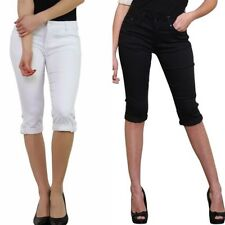 Cotton Mid Stretch Trousers for Women