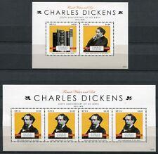 Nevis 2012 Charles Dickens Literatur Schriftsteller Postfrisch MNH