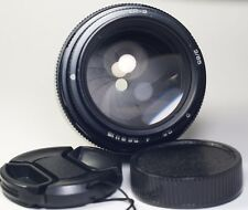 JUPITER 9 85/2 M42 black 85mm f/2 lens USSR 1989 Canon Nikon Sony