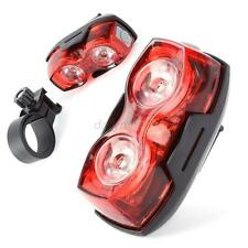 Super Bright Cycling Bicycle Bike Rear Tail LED Flashing Lamp Light 3Mode 1W D13