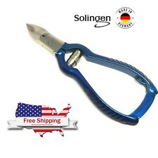 """Hetzer Solingen Toe Nail Nipper Thick Nail Clipper Heavy Cutter With Buffer 4,8"""""""