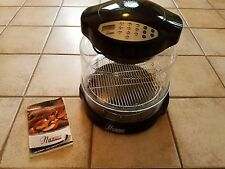 Nu Wave Pro Infrared oven with extender ring and 2 racks  -  8 pieces  CLEAN !