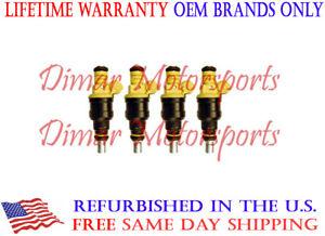 BOSCH OEM Fuel Injector Set FITS 1989-1990 SAAB 9000 2.0L 2.3L