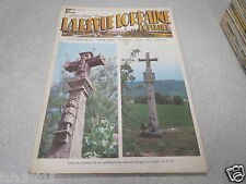 LA REVUE LORRAINE POPULAIRE N° 57 AVRIL 1984 croix de chemins hautes vosges *