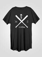 Kurzarm Herren-T-Shirts mit Skull in Größe XL