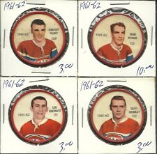 1961-62 Shirriff coin #109 Jean Guy Talbot
