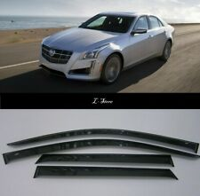 For Cadillac CTS III Sd 2013- 2019 Side Window Visors Sun Guard Vent Deflectors