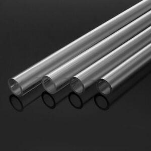4pcs PETG Tubing Rigid Hard Tubes Clear Bending Hard Tubing Hose Water Cooling