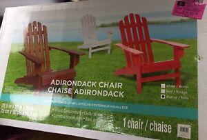 Ash Walnut Brown Wood Adirondack Chair Furniture