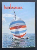 Revue magazine BATEAUX n° 62 juillet 1963 Noirmoutier vaurien Moitessier