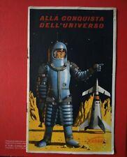 ALBUM FIGURINE FERRERO ALLA CONQUISTA DELL' UNIVERSO 1959