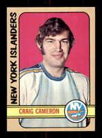 1972-73 Topps #22 Craig Cameron NM/NM+ RC Rookie NY Islanders 506383
