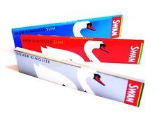 Swan Zigarettenpapier Kingsize Long Papes Long Paper Probierset Rot+Blau+Silber