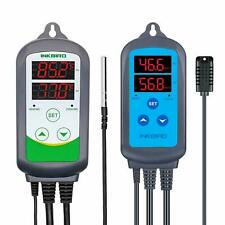 Inkbird ITC-308 EU Temperaturregler + IHC-200 Feuchteregler Luftfeuchte Thermost