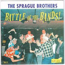 "SPRAGUE BROTHERS Battle of Bands 7"" bobby fuller buddy holly everly rockabilly"