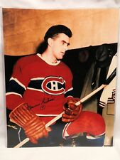 "MAURICE ""ROCKET"" RICHARD, Signed 16x20 Photo, Montreal Canadiens, COA"