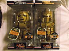 "Funko Hikari Transformers Gold Bumblebee & Optimus Prime LE8"" Vinyl Figure RARE!"