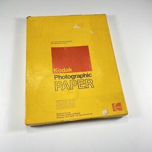 VTG Kodak Kodabrome RC Photo paper Medium weight ultra Hard sealed exp 1977