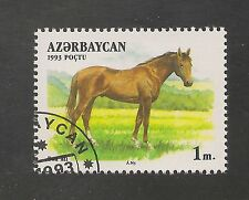 Azerbaijan #359 (A22) VF USED - 1993 1m Don - Horse