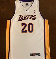 Rare Vintage Adidas NBA Los Angeles LA Lakers Gary Payton Basketball Jersey