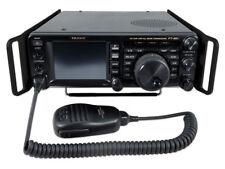 FT-991 (ohne A) mit Seitengriffen u. Standmikrofon